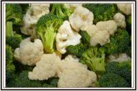 broccoli and cauliflower