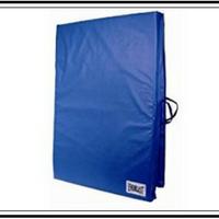 blue exercise mat