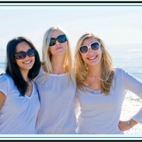 3 ladies with sunglasses