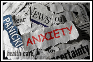 anxiety in newspaper